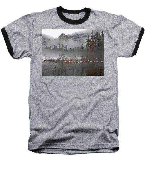 Baseball T-Shirt featuring the photograph Yosemite Winter Beginnings by Walter Fahmy