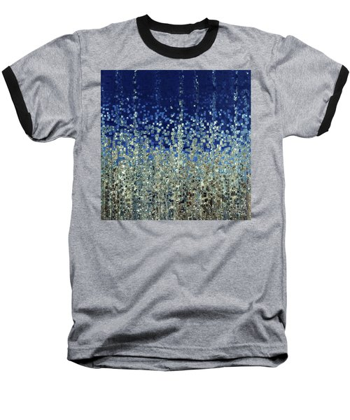 You Are Not Alone. Psalm 40 1-3 Baseball T-Shirt by Mark Lawrence