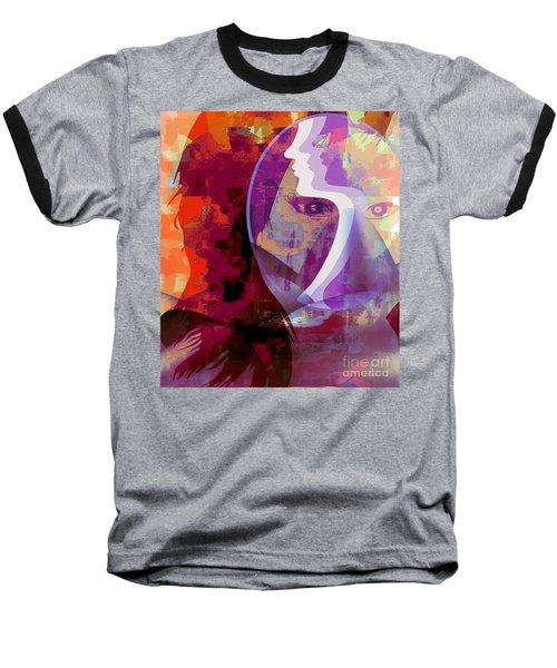 You Can Beat It Baseball T-Shirt by Fania Simon