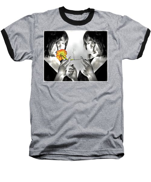 Baseball T-Shirt featuring the photograph You Choose by Pennie  McCracken