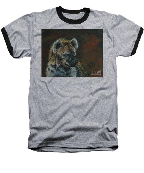 You Don't See Me Laughing......hyena Baseball T-Shirt