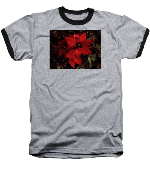 You Know It's Christmas Time When... Baseball T-Shirt by Elaine Malott