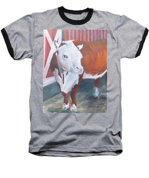 You Lookin At Me Baseball T-Shirt