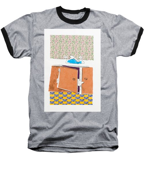 You Looking For Me Baseball T-Shirt by Leela Payne