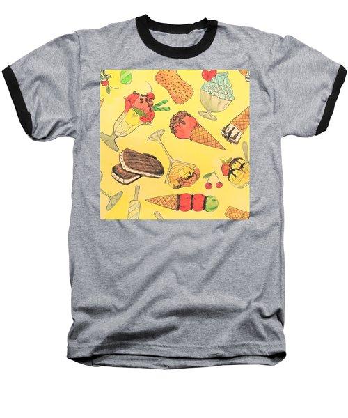 You Scream I Scream Baseball T-Shirt