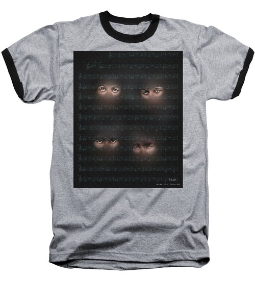 Baseball T-Shirt featuring the photograph You Won T See Me by Pedro L Gili
