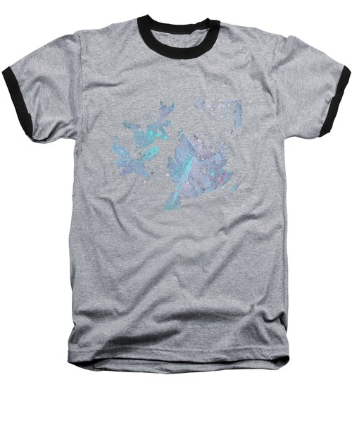 You'll See - Blue Baseball T-Shirt by Marco Paludet