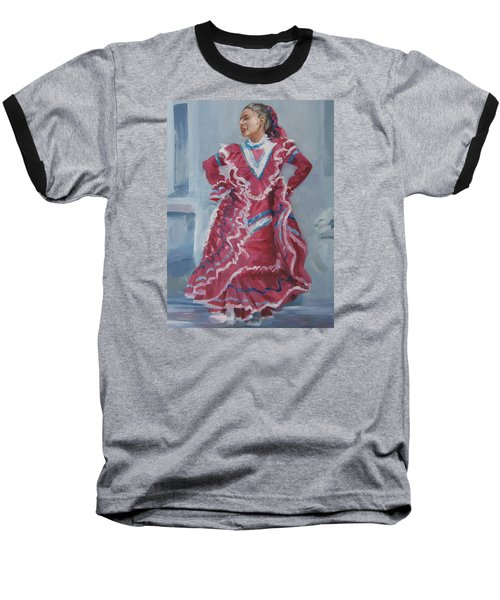 Young Dancer At Arneson Theater Baseball T-Shirt