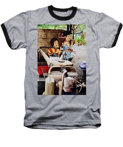 Young Farmer's Breaktime Baseball T-Shirt