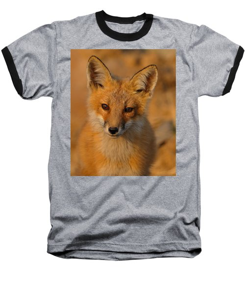 Young Fox Baseball T-Shirt