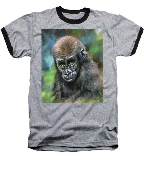 Young Gorilla Baseball T-Shirt