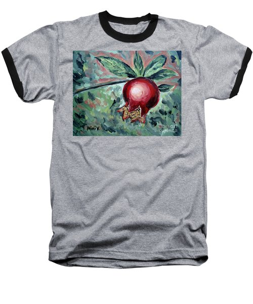 Young Pomegranate Baseball T-Shirt