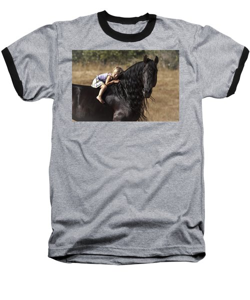 Young Rider Baseball T-Shirt by Wes and Dotty Weber