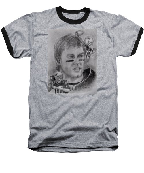 Young Tom Baseball T-Shirt by Jack Skinner