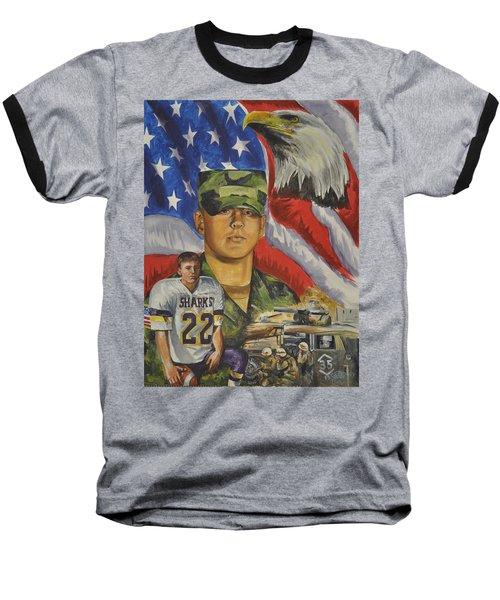 Young Warrior Baseball T-Shirt by Ken Pridgeon