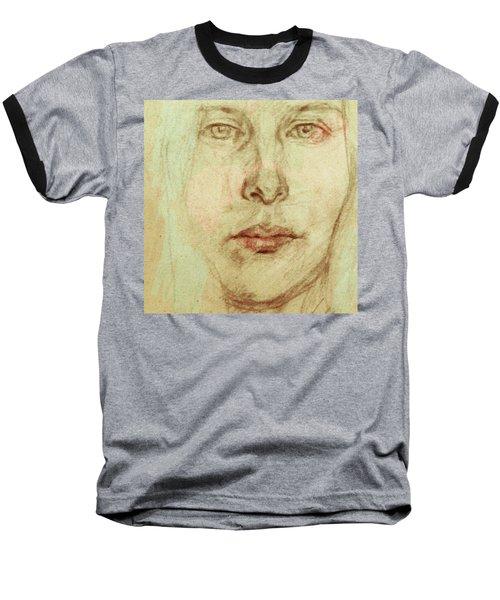 Young Woman Baseball T-Shirt