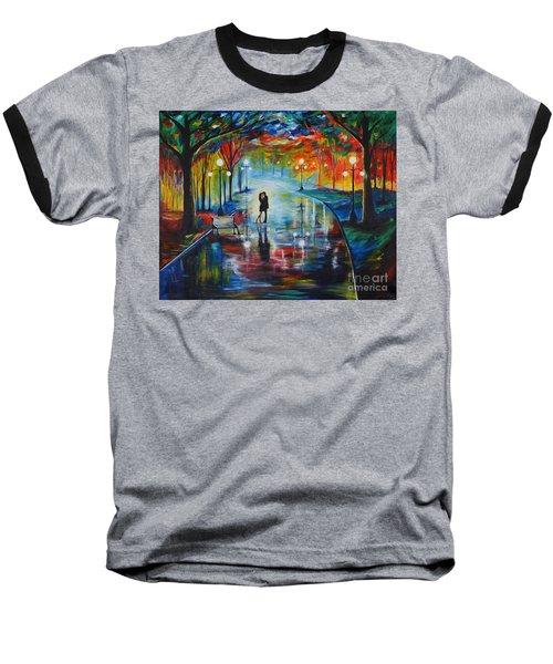 Your Love Baseball T-Shirt by Leslie Allen