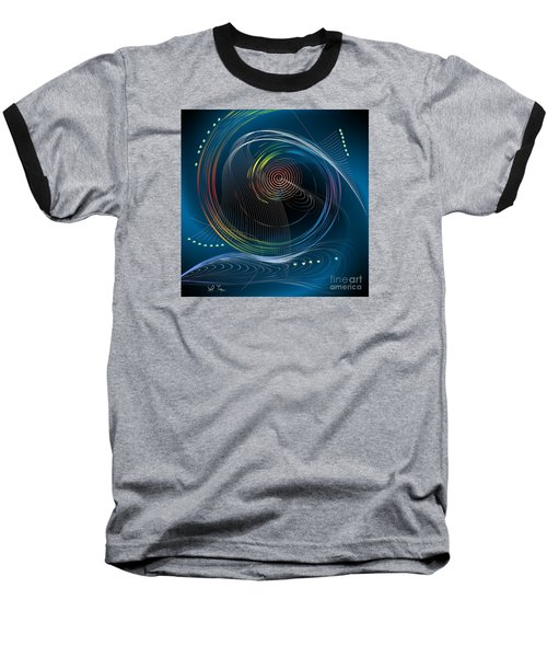 Baseball T-Shirt featuring the digital art Your Song by Leo Symon