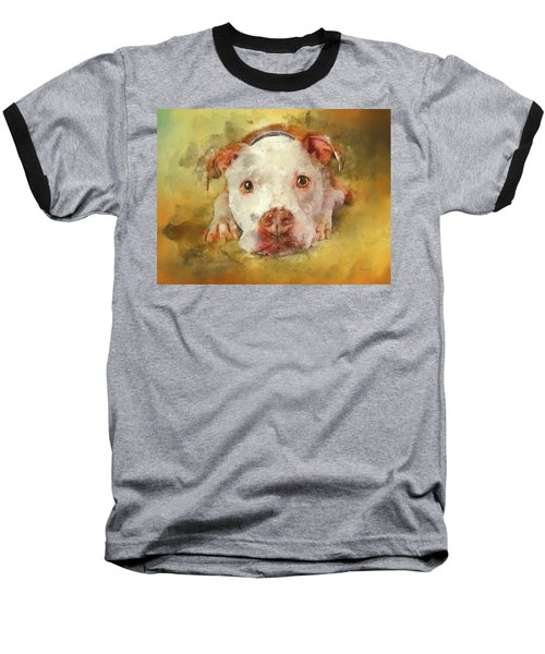 Baseball T-Shirt featuring the photograph You're My Favorite Human by Bellesouth Studio