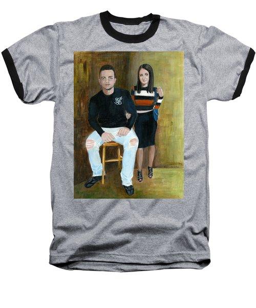 Youth And Beauty - Painting Baseball T-Shirt