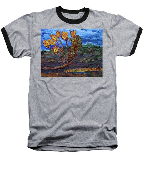 Baseball T-Shirt featuring the painting Youth Time by Vadim Levin
