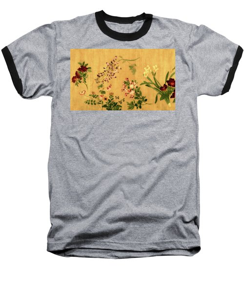 Yuan's Hundred Flowers Baseball T-Shirt