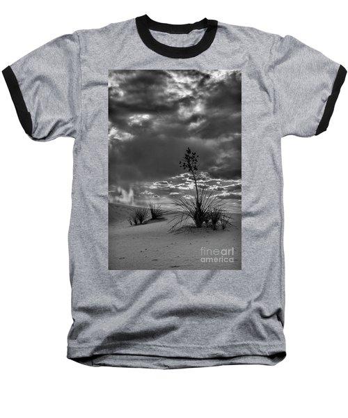 Yucca At Sunset Baseball T-Shirt