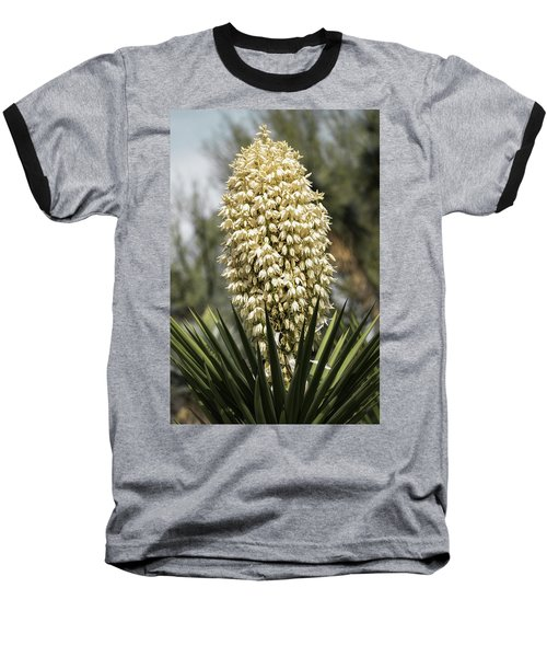 Baseball T-Shirt featuring the photograph Yucca Flowers In Bloom  by Saija Lehtonen