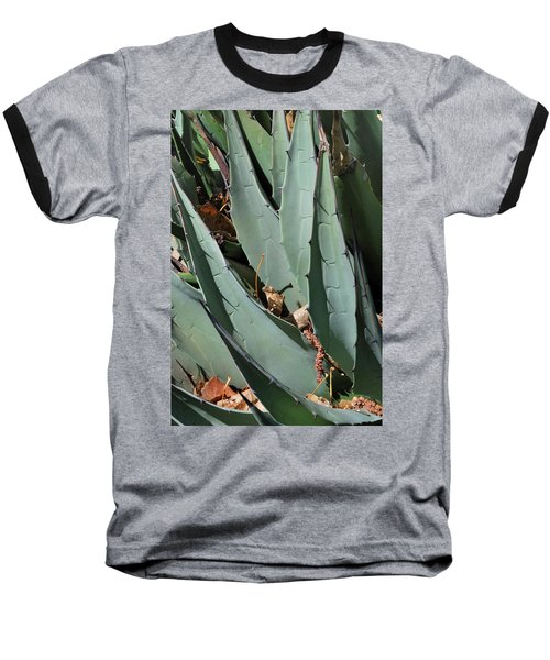 Baseball T-Shirt featuring the photograph Yucca Leaves by Ron Cline