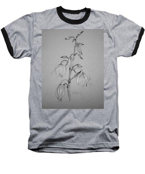 Yucca Baseball T-Shirt by Marna Edwards Flavell