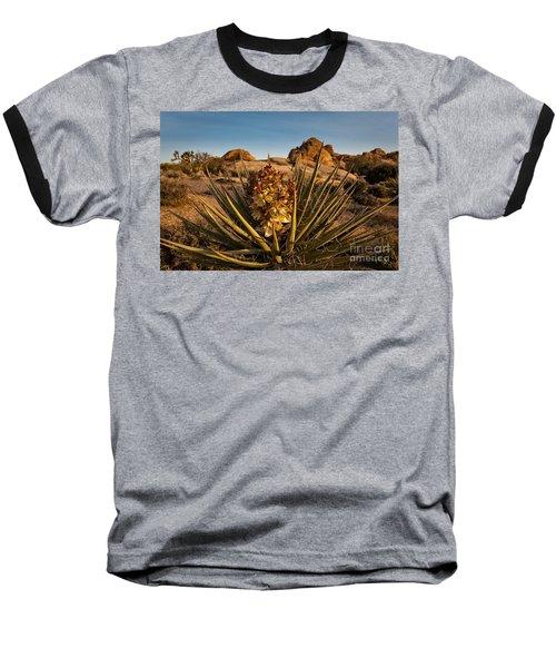 Yucca Bloom Baseball T-Shirt