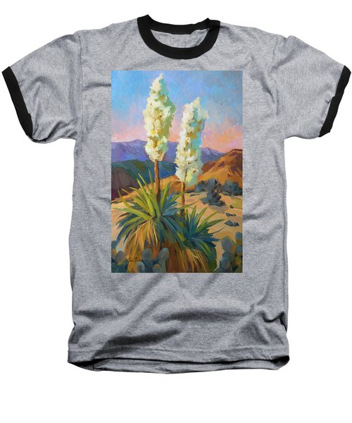 Yuccas Baseball T-Shirt by Diane McClary