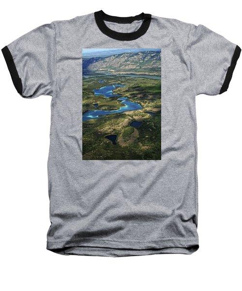 Yukon Territory Canada Baseball T-Shirt