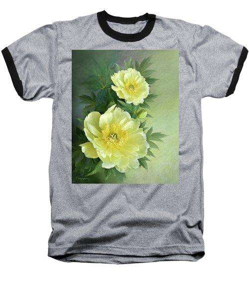 Yumi Itoh Peony Baseball T-Shirt