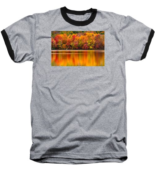 Yummy Autumn Colors Baseball T-Shirt