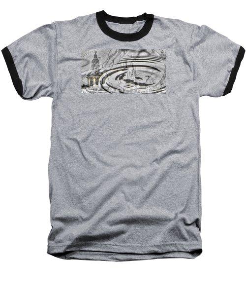 Yury Bashkin My Rain City Baseball T-Shirt by Yury Bashkin