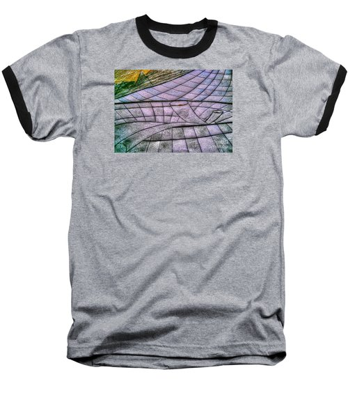 Baseball T-Shirt featuring the drawing Yury Bashkin Net by Yury Bashkin