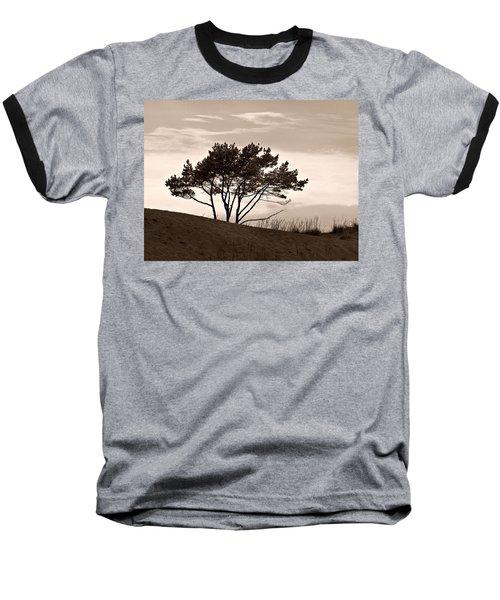 Baseball T-Shirt featuring the photograph Yyteri Evening by Jouko Lehto