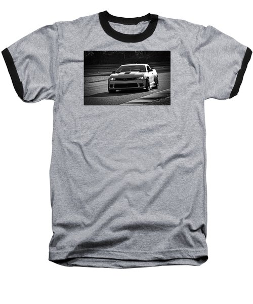 Z28 On Track Baseball T-Shirt by Mike Martin