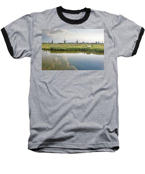 Zaandam Skyline Baseball T-Shirt
