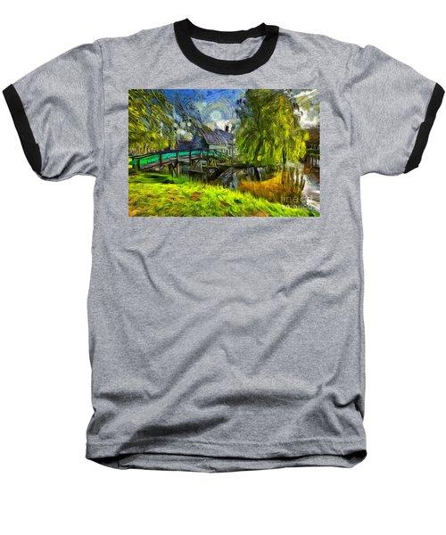 Zaanse Schans Baseball T-Shirt