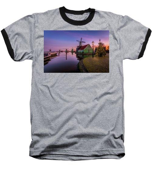 Zaanse Schans Holiday  Baseball T-Shirt