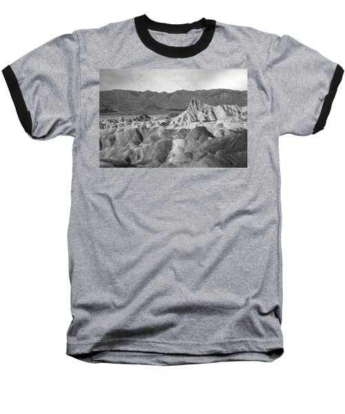 Zabriskie Point Landscape Baseball T-Shirt