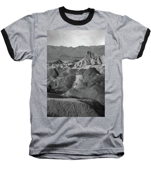 Zabriskie Point Portrait Baseball T-Shirt