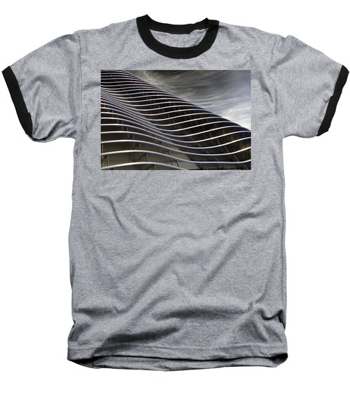 Zahner Facade Baseball T-Shirt by Christopher McKenzie