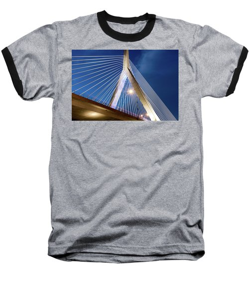 Zakim Bridge Upclose Baseball T-Shirt