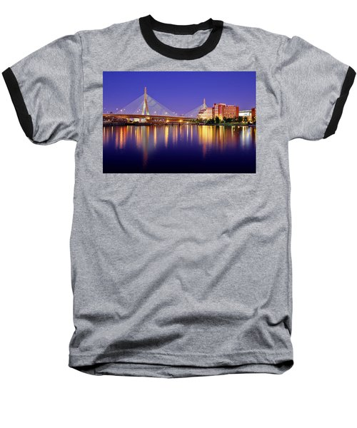 Zakim Twilight Baseball T-Shirt by Rick Berk