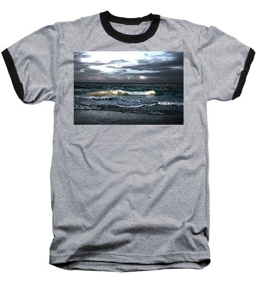 Zamas Beach #11 Baseball T-Shirt