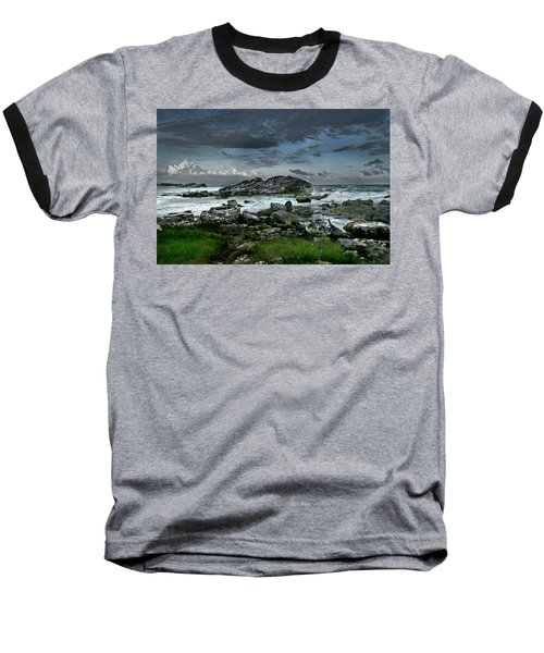 Zamas Beach #14 Baseball T-Shirt