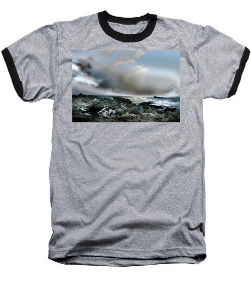 Zamas Beach #2 Baseball T-Shirt